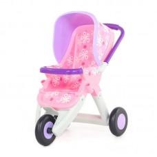Детская игрушка Коляска для кукол №2 прогулочная 3-х колёсная (в пакете) арт. 48141 Полесье
