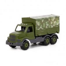 """Детская игрушка """"Сталкер"""", автомобиль бортовой тентовый военный (РБ), 49193, Полесье"""
