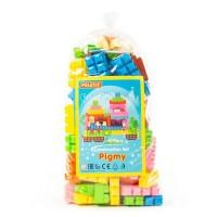 """Детская игрушка Конструктор """"Малютка"""" (107 элементов) (в пакете) арт. 49384 Полесье"""