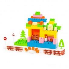 """Детская игрушка Конструктор """"Малютка"""" (179 элементов) (в пакете), 49407, Полесье"""
