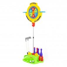 Детская игрушка ПОЛЕСЬЕ Мишень. Мультиигровой центр (в пакете) арт. 49704