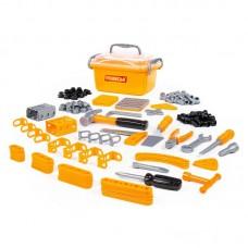 Детская игрушка Набор инструментов №10 (166 элементов) (в контейнере) арт. 53503 Полесье