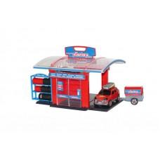 """Детская игрушка Тюнинг - центр """"Pit - Stop"""" №1 (в пакете) арт. 53695 Полесье"""
