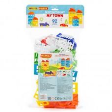 """Детская игрушка Конструктор """"Построй свой город"""" (92 элемента) (в пакете), 53732, Полесье"""