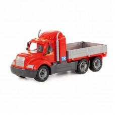 """Детская игрушка """"Майк"""", автомобиль бортовой (в сеточке), 55477, Полесье"""