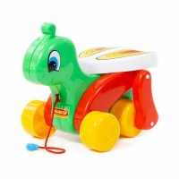 """Детская игрушка Каталка """"Сверчок"""" (в сеточке) арт. 56436 Полесье"""