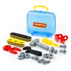 """Детская игрушка Набор """"Механик"""" (30 элементов) (в чемоданчике) арт. 56498 Полесье"""