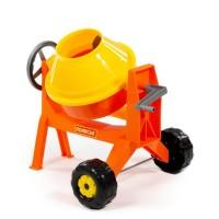 Детская игрушка Бетономешалка-мини (в сеточке), 56542, Полесье