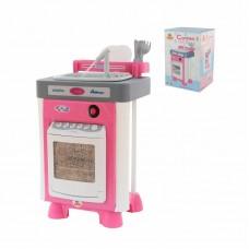 """Детская игрушка Набор """"Carmen"""" №3 с посудомоечной машиной и мойкой (в коробке) арт. 57914 Полесье"""