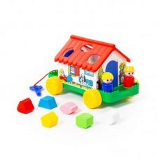 Детская игрушка-сортер Игровой дом (в сеточке) арт. 6202 Полесье