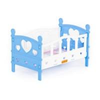 Детская игрушка Кроватка сборная для кукол №2 (5 элементов) (в пакете), 62048, Полесье