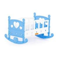 Детская игрушка Кроватка-качалка сборная для кукол №2 (7 элементов) (в пакете), 62062, Полесье