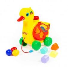 Детская игрушка Уточка-несушка (в сеточке), 6219, Полесье
