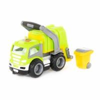 """Детская игрушка """"ГрипТрак"""", автомобиль коммунальный (в сеточке), 6257, Полесье"""