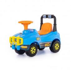 Детская игрушка Автомобиль Джип-каталка - №2 (голубой) арт. 62871 Полесье