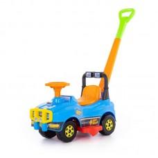 Детская игрушка Автомобиль Джип-каталка с ручкой (голубой) арт. 62901 Полесье