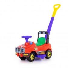 Детская игрушка Автомобиль Джип-каталка с ручкой (красный) арт. 62918 Полесье