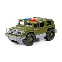 """Детская игрушка Автомобиль-джип военный патрульный """"Защитник"""" (РБ), 63670, Полесье"""