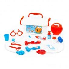 """Детская игрушка Набор """"Три Кота"""" """"Доктор"""" (в контейнере) арт. 65353 Полесье"""