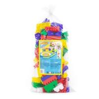 """Детская игрушка Конструктор """"Супер-Микс"""" (144 элемента) (в мешке), 6783, Полесье"""