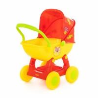 """Детская игрушка Коляска для кукол """"Три кота"""" №2 арт. 71446 Полесье"""