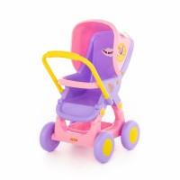 """Детская игрушка Коляска для кукол прогулочная """"Три кота"""" №1 арт. 71453 Полесье"""