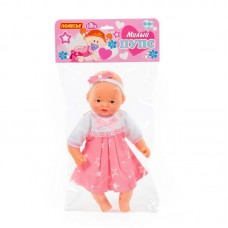 """Детская игрушка Пупс мягконабивной """"Милый"""" (28 см) в платье (в пакете) арт. 71699 Полесье"""