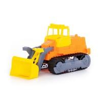 Детская игрушка Гусеничный трактор-погрузчик, 7377, Полесье