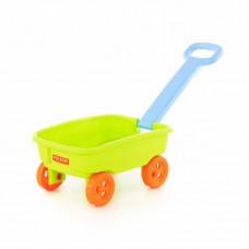 Детская игрушка Тележка №3 с ручкой, 76786, Полесье