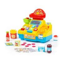 """Детская игрушка Игрушка развивающая """"Кассовый аппарат для супермаркета"""" (в коробке) арт. 77073 Полесье"""