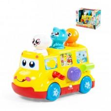 """Детская игрушка развивающая """"Школьный автобус"""" (в коробке), 77080, Полесье"""