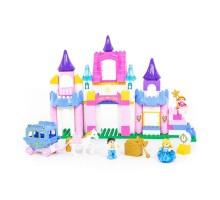 """Детская игрушка Конструктор """"Макси"""" - """"Весёлая принцесса"""" (146 элементов) (в коробке) арт. 77684 Полесье"""