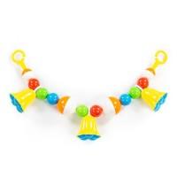 """Детская игрушка Погремушка-подвеска """"Колокольчики"""" (51 см), 78230, Полесье"""