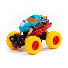 """Детская игрушка """"Монстр РАЛЛИ"""" - """"Носорог"""", автомобиль инерционный (со светом и звуком) (в коробке) арт. 78841 Полесье"""