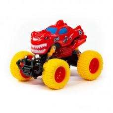 """Детская игрушка """"Монстр РАЛЛИ"""" - """"Акула"""", автомобиль инерционный (со светом и звуком) (в коробке) арт. 78858 Полесье"""
