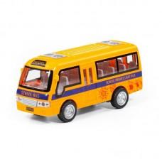 """Детская игрушка """"Школьный автобус"""", автомобиль инерционный (со светом и звуком) (в коробке) арт. 78971 Полесье"""