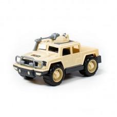 """Детская игрушка Автомобиль-пикап военный """"Разведчик-Сафари"""" с 1-м пулемётом (РБ), 79121, Полесье"""
