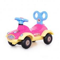 """Детская игрушка Каталка-автомобиль для девочек """"Сабрина"""" (со звуковым сигналом) арт. 7970 Полесье"""