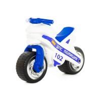 """Детская игрушка Каталка-мотоцикл """"МХ"""" (Полиция) арт. 80622 Полесье"""