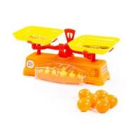 """Детская игрушка Игровой набор """"Весы"""" """"Чебурашка и крокодил Гена"""" + 6 апельсинов (в сеточке), 84262, Полесье"""