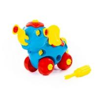 """Детская игрушка Конструктор """"Слоник"""" (27 элементов) (в пакете), 84453, Полесье"""