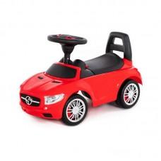 """Детская игрушка Каталка-автомобиль """"SuperCar"""" №1 со звуковым сигналом (красная), 84460, Полесье"""