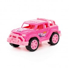 """Детская игрушка Автомобиль """"Легионер-мини"""" (розовый) (в сеточке) арт. 84699 Полесье"""