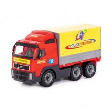 """Детская игрушка автомобиль бортовой тентовый """"Volvo"""" (Вольво) (в сеточке) арт. 8763 Полесье"""