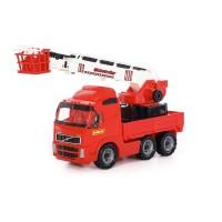 """Детская игрушка автомобиль пожарный """"Volvo"""" (Вольво) (в сеточке) арт. 8787 Полесье"""