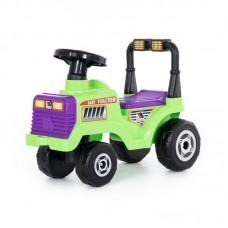 """Детская игрушка Каталка-трактор """"Митя"""" №2 (без звукового сигнала) арт. 9196 Полесье"""