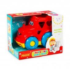 """Детская развивающая игрушка-сортер """"Трактор"""" (в коробке) арт. 89403 Полесье"""